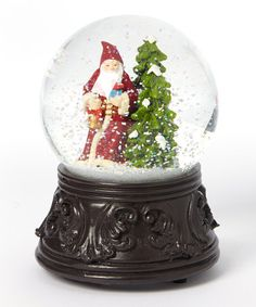 Look at this #zulilyfind! Old World Santa Musical Snow Globe by Horizons East, LLC #zulilyfinds