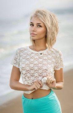 cheveux mi-longs : les plus beaux modèles | Coiffure simple et facile
