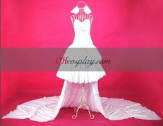 Chobits Chi White Dress Cosplay Costume Comic Con Costumes 7f40682b5e60