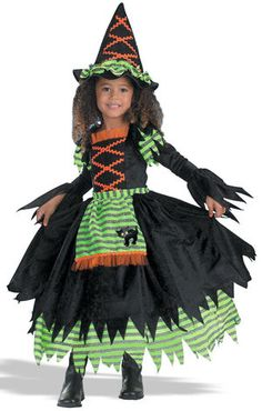 Kids Storybook Toddler Witch Costume