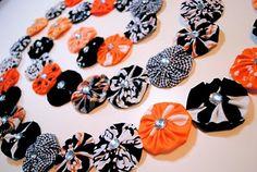 halloween yoyo garland