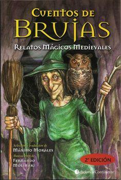 'Cuentos de Brujas', illustrations by Fernando Molinari