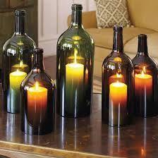 botellas velas - Buscar con Google