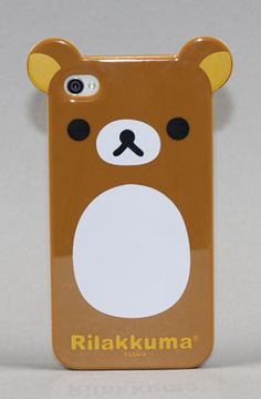 Rilakkuma Bear Case for Iphone  by Yamamoto Industries