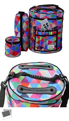 Totes and Cases 83927: Best Knitting Bag Yarn Storage Crochet Organizer Set Of 3 Project Holder -> BUY IT NOW ONLY: $70.98 on eBay!