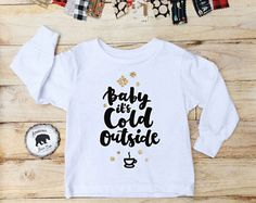 Baby it's cold outside - American Bear Cub Clothing Co.™ by AmericanBearCub on Etsy @americanbearcub