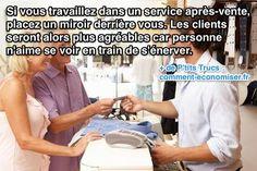 Astuce pour les gens qui travaillent en service après vente