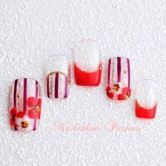 【お正月にやりたい♪】おしゃれ&かわいい『和風ネイル』のデザイン集* | GIRLY
