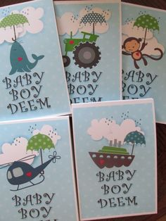 Baby Shower Note Pad Favors - chg themes