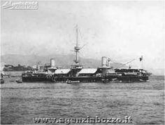 Navi da guerra | RN Andrea Doria 1885 | corazzata di I classe | Regia Marina Italiana