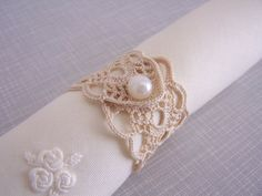 crochet napkin rings by mehves1979 on Etsy, $42.00