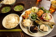 healthy Japanese lunch