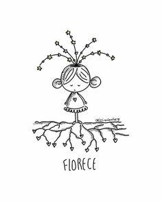 🌹🌹🌹 #florecer #flourish #love #amor #soul #alma #cute #cutie #cristinacevallos #hearts #roots #tree #instaquote #instadaily #ilustration #dibujos #sketch #doodle #creation #spirit #growup #digitalpaint #romana #peace #light #freedom #doodleatoma