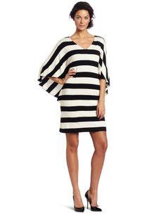 http://www.coolgiftoffers.com/extl/342/B0074H8I9C/DetailPage Suzi Chin Women's Flutter Sleeve Dress, Black/Natural