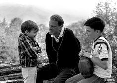10 quotes from billy graham on fatherhood - the billy graham library Billy Graham Family, Rev Billy Graham, Billy Graham Library, Bill Graham, Teenager Quotes, Boy Quotes, Franklin Graham, Discipline Quotes, My Dad Says