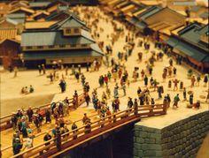 Edo Tokyo Museum: Diorama of Nihonbashi