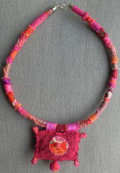 自由奔放なネックレス繊維ホット/Couleurs