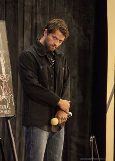 misha wearing black.. i just.. i'm sorry what was i saying i've lost my train of thought.