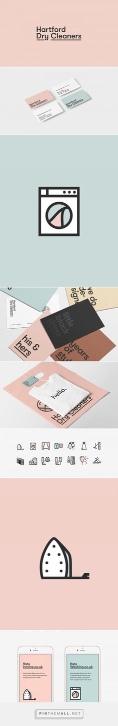 Hartford Dry Cleaners - Visual Identity + Website on Behance - created via https://pinthemall.net