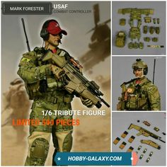 MSE The Mark Forester USAF CCT Combat Controller 1/6 Scale Action Figure! Limited to 500 pieces worldwide! Up to $15 off!  Pre-order at Hobby-Galaxy.com!  #combatcontroller #usaf #unitedstatesairforce #fallenheroes #fallenhero #fallenheros #markforester #usarmy #usmilitary #veteran #veterans #soldier #soldiers #onesixthrepublic #onesixthfigure #onesix #onesixth #enterbay #onesixthscale #actionfigures #actionfigure