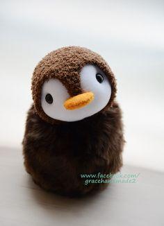 Grace--#399 sock penguin
