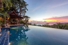 Looking for a luxury retreat with friends or family, then Villa Arawan offers beautifully designed spaces and stunning sea views in one of Phuket's most exclusive coastal enclaves. Complete with 5-bedrooms and a team of dedicated staff that ensure a hassle-free holiday. #villaarawan #phuket #bestsunset #indulge #lovetotravel #lvhvillas