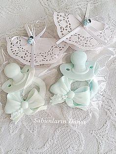 Emzik sabun Baby Favors, Polymer Clay Fairy, Clay Fairies, Glycerin Soap, Soap Packaging, Baby Party, Baby Decor, Bar Soap, Handmade Soaps