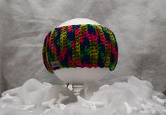 Fascetta multicolor di Papilau su Etsy