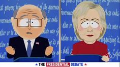 """South Park again parodied the presidential election between """"Giant Douche and Turd Sandwich"""" in season 20's 3rd episode, """"The Damned."""""""