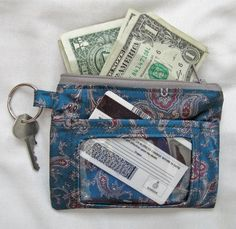 How to Make a Recycled Tie ID Case • WeAllSew • BERNINA USA's blog ...