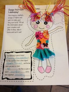 Decorate Your Own Lalaloopsy Party Craft  by Designispriceless, $5.00