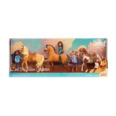 cb3984eae1b Now kids can bring home all the friends from DreamWorks Spirit Riding Free  with the Classic