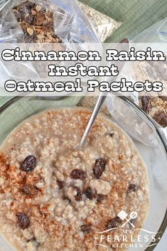 Cinnamon Raisin Inst