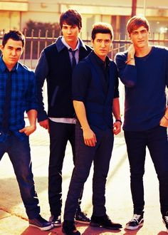 Big time rush... They are so young.