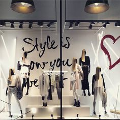 "RIVER ISLAND,London,UK, ""Style is how you wear it!"", pinned by Ton van der Veer"