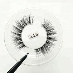 1eb61ed3e10 Source Hot Sale Wholesale Own brand Handmade Real Mink Fur 3d Lashes Fake  eyelashes on m