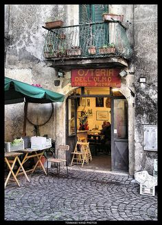 Osteria dell'olmo I by Tommaso Manzi Photos, via Flickr