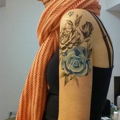 22 Impossibly Beautiful Floral Tattoos