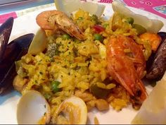 Paella Mixta / Spanish Gastronomy | Belén RU - YouTube