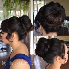 Hair Bun, Bridal Hair