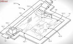Amazon patenteia tecnologia para armazenar produtos em líquidos