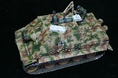 Sturmtiger for Flames of War. Painted by Panzer Schule for Worlds at War.