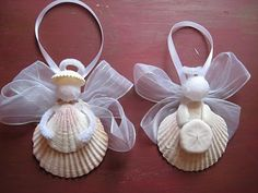 Annie's Crafty Bonnet: little shell angels