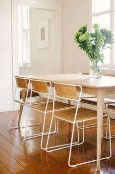 Curious Grace Customers - Joseph Koprek & Vera Almada | Curious Grace.  Our dining room.