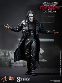 The Crow Eric Draven - The Crow Sixth Scale Figure by Hot To | Sideshow Collectibles
