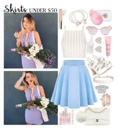 """""""GENTLE"""" by sophiemedv on Polyvore featuring мода, WithChic, Topshop, Chanel, Charlotte Russe, Ashlyn'd, Le Specs, Snö Of Sweden, Jimmy Choo и Humble Chic"""
