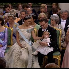 Crown Princess Victoria of Sweden with her niece Leonore  Photo: SVT