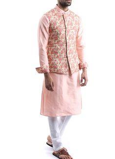 Engagement Dress For Groom, Wedding Outfits For Groom, Wedding Dress Men, Wedding Attire, Mens Sherwani, Kurta Men, Indian Men Fashion, Mens Fashion, Modi Jacket