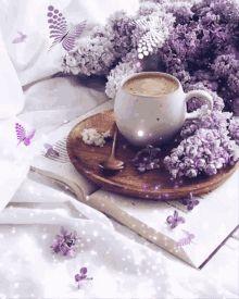 Gina101's GIFs on Tenor Good Morning Coffee Gif, Good Morning Flowers Gif, Good Morning Love, Good Morning Messages, Good Morning Greetings, Good Morning Images, Good Morning Quotes, Love U Mom, Good Morning Animation