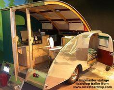 Fun to build teardrop Camper